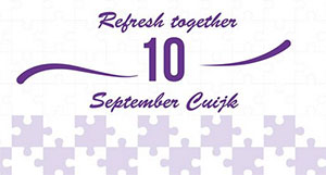 zondag 10 september - Refresh together