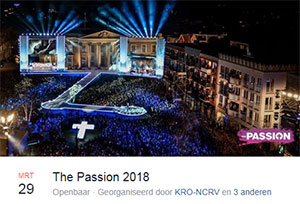 donderdag 29 maart - The Passion 2018