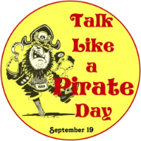 zondag 19 september 2021 - International Talk Like A Pirate Day